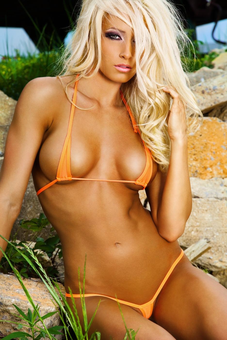 Micro bikini babes