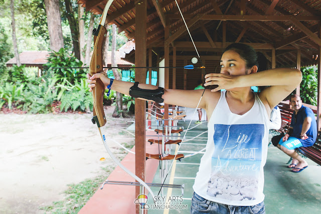 Archery Training before you become Katniss Everdeen