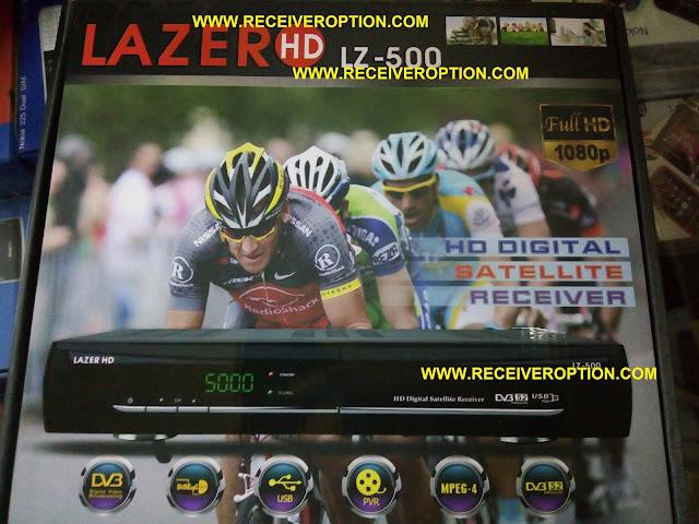 LAZER LZ-500 HD RECEIVER BISS KEY OPTION