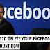 Facebook Delete Facebook