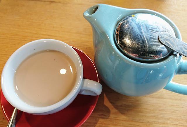 Peddler Cafe, Nunawading, chai