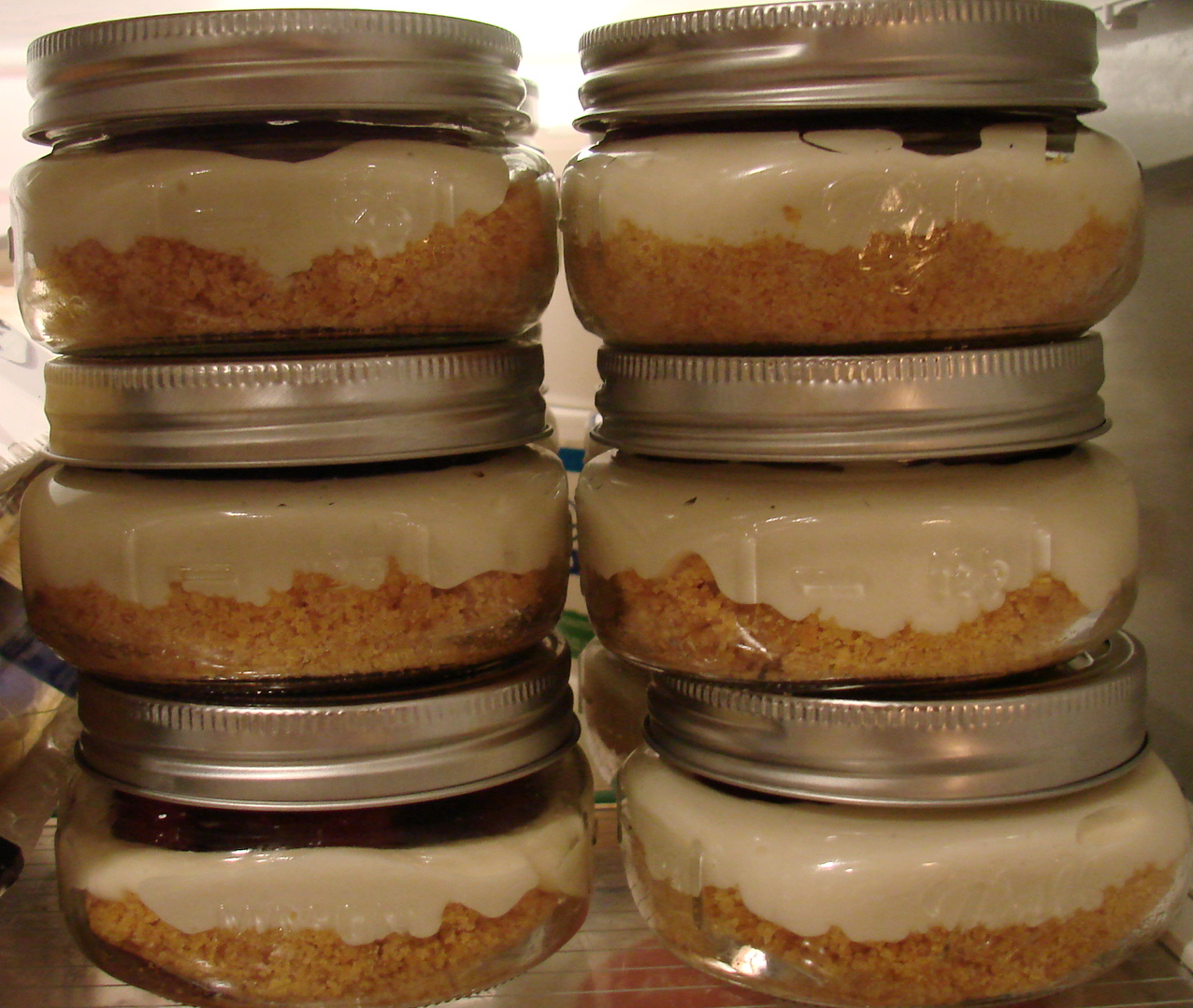 Uncommon Artistic Endeavors: Cheesecake in a Jar