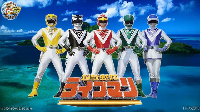 Choujuu Sentai Liveman Episode 01 – 49 BATCH Subtitle Indonesia