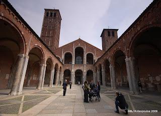 melanie john - Basílica de Sant'Ambrogio, Milão