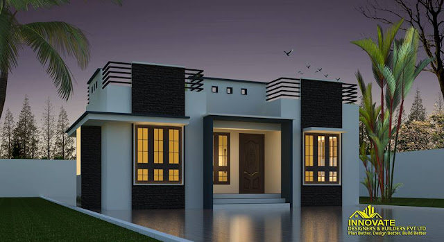 663 Sqft 2 Bedroom 11.5 Lakhs Home with 2 Elevations