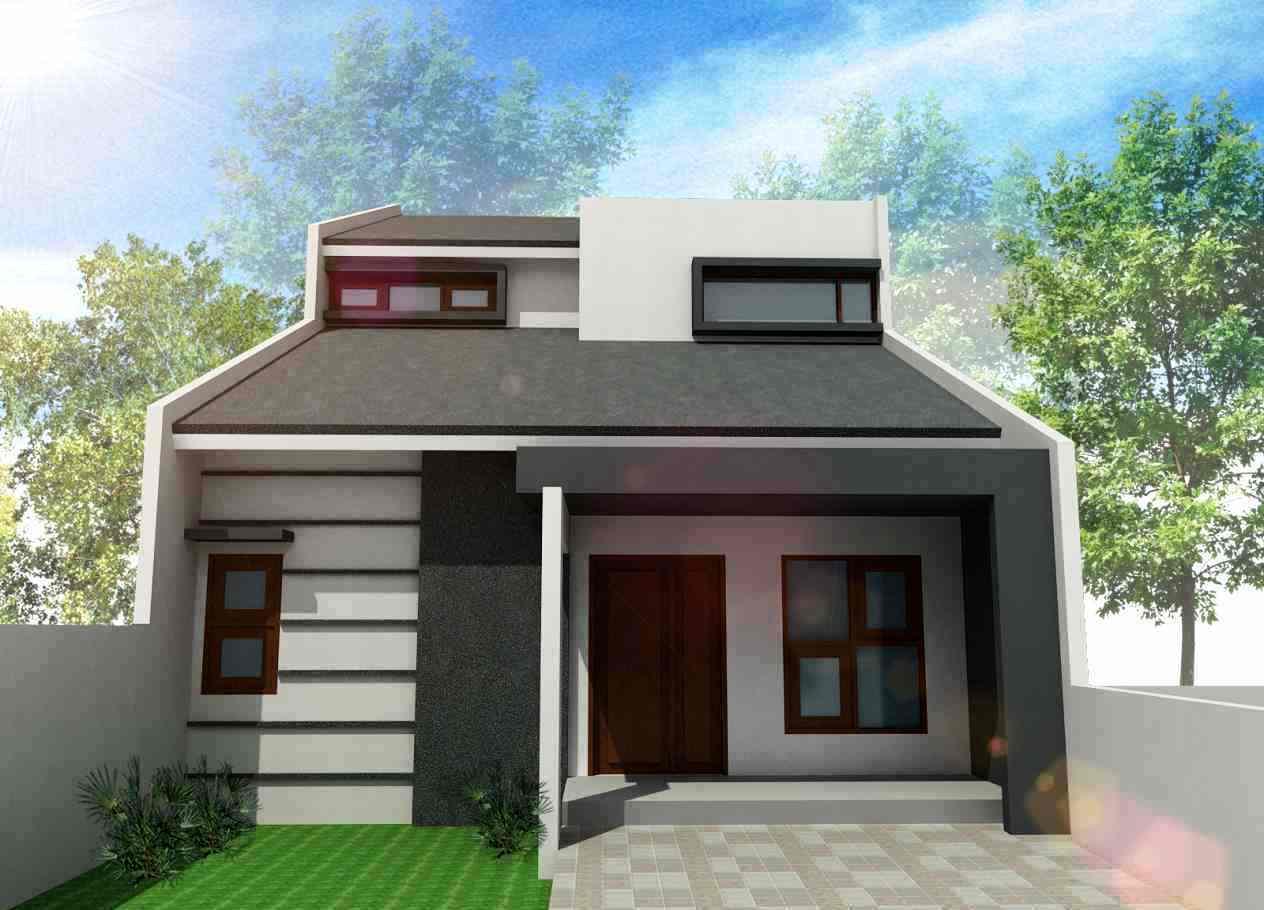 Desain Rumah Minimalis Tampak Depan Sederhana