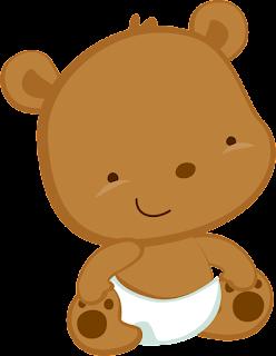 Ositos del Clipart Bebé en Camino