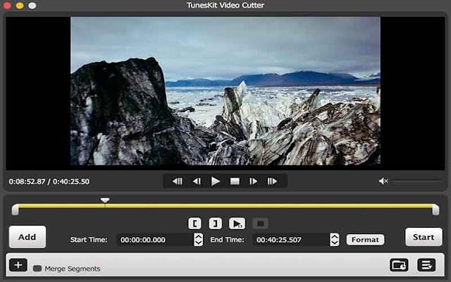 TunesKit Video Cutter 2.0.0.32 F.u.l.l - Phần mềm cắt video đơn giản 2019