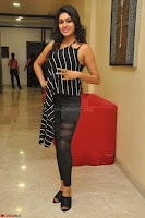 Akshida in Black Tank Top at Kalamandir Foundation 7th anniversary Celebrations ~  Actress Galleries 030.JPG