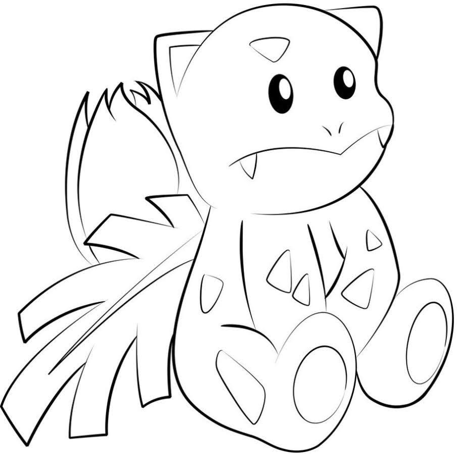 Pokemon Ivysaur Coloring Pages Free Pokemon Coloring Pages