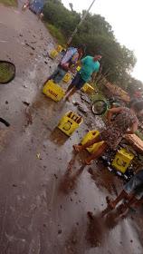 Poção de Pedras: acidente com caminhão da ambev  deixa cervejas na ruas e população a saqueia......