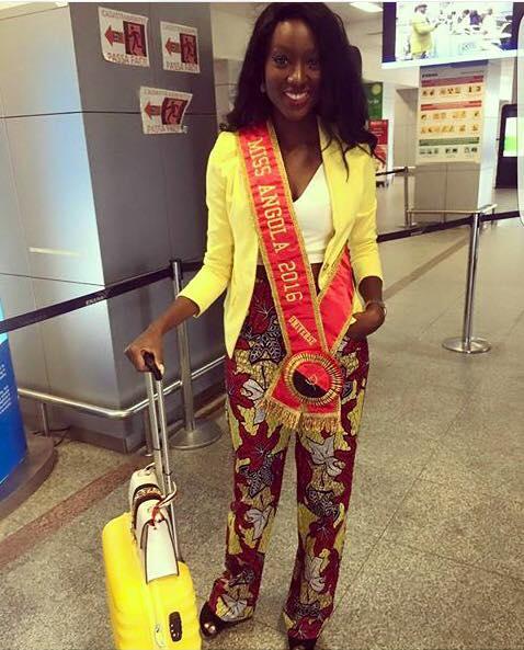 Miss Angola Luisa Baptista