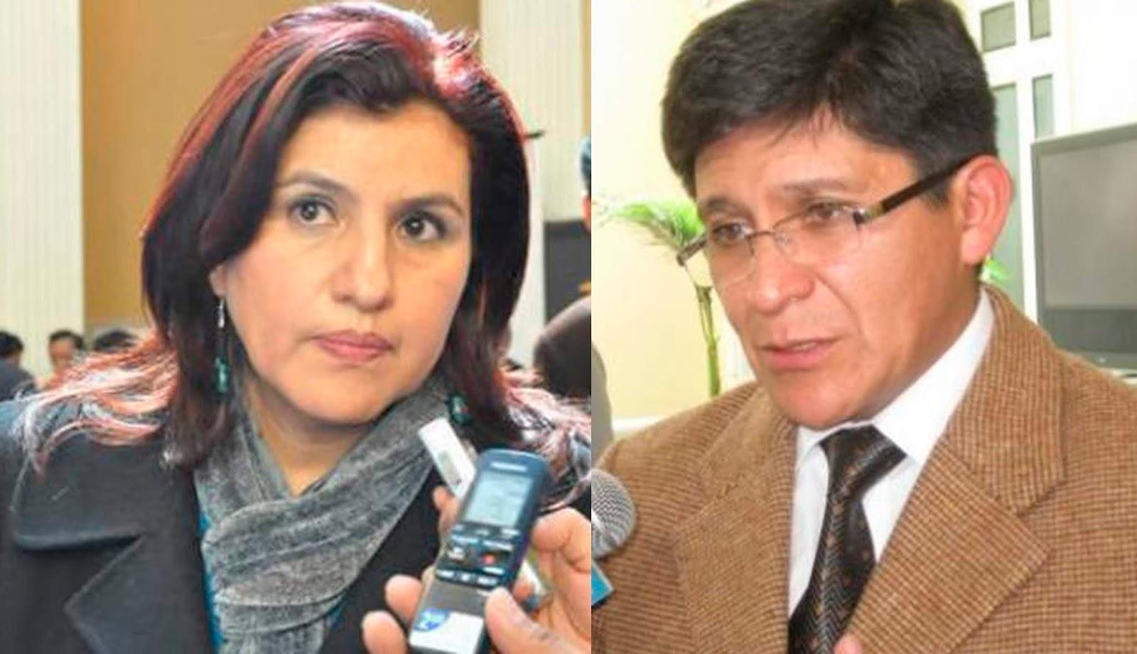 Delgado y Maldonado podrían activar otro proceso contra la Contraloría por incumplimiento de deberes / WEB MONTAJE