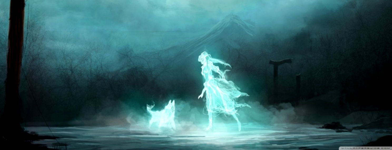 Ghost Anime Wallpaper Hd Desktop | Soft Wallpapers