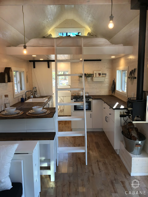 Tiny House Town Cabane Tiny Cabin 256 Sq Ft