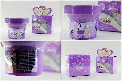 Cream Pemutih Selangkangan dan Bokong Dari Clear Dark Cream By Chomnita Original Made In Thailand NEW PACKING