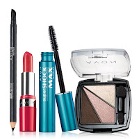 avon high style makeup collection in current catalog