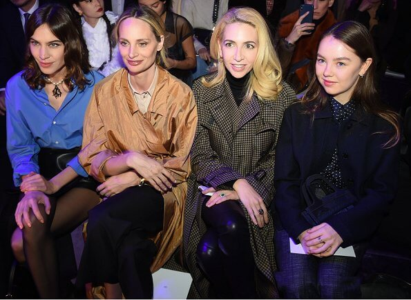 Princess Alexandra is the only child of Princess Caroline of Monaco and Prince Ernst August. Dior's Haute Couture Spring/Summer 2020 show