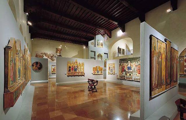 Visita a Galeria Nacional da Úmbria em Perugia
