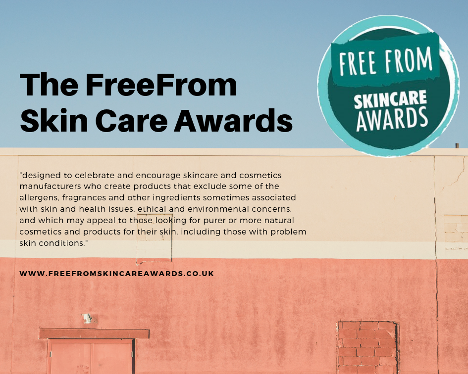 The eighth annual Free From Skincare Awards are now open