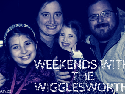 Weekends with the Wigglesworths- Home Improvements and Card Games