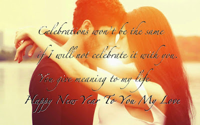 Happy New Year 2017 SMS Messages for Lovers