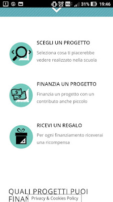 Finanzia il progetto scolastico