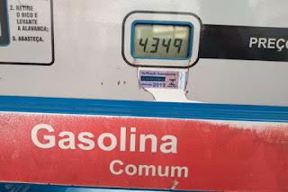 Gasolina mais caras da Bahia