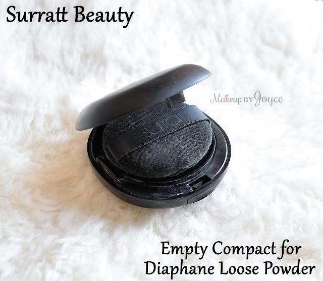 Surratt Beauty Diaphane Loose Powder Cartridge in Matte Puff Review