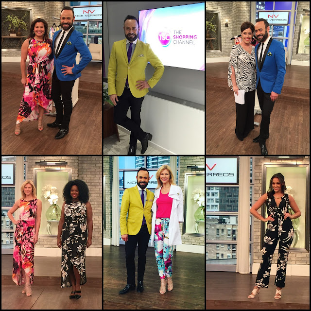 "NV NICK VERREOS.....Photo Recap of ""NV Nick Verreos"" Launch on Canada's ""The Shopping Channel"""