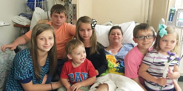 Madre de seis hijos muere y su mejor amiga los adopta