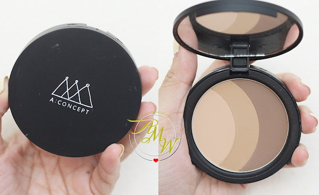a photo of A: Concept Shape Of My Face Triple Contour Review