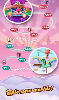 candy crush saga epic new worlds