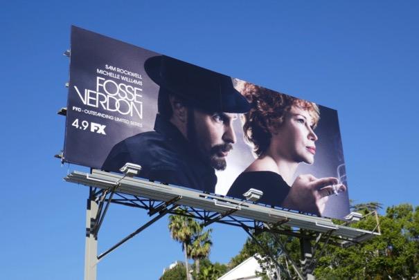 Fosse Verdon limited series billboard