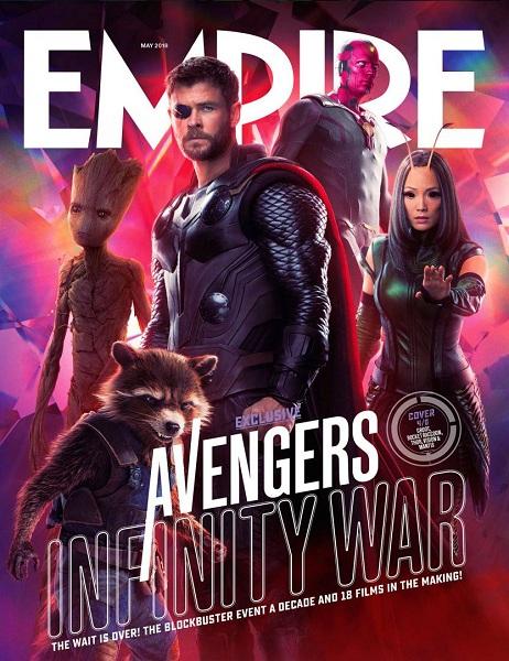 Avengers: Infinity War Groot & Rocket Raccoon - Thor - Vision - Mantis