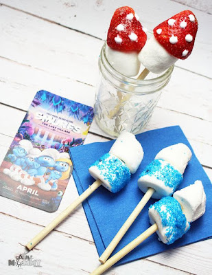 simple Smurf treats