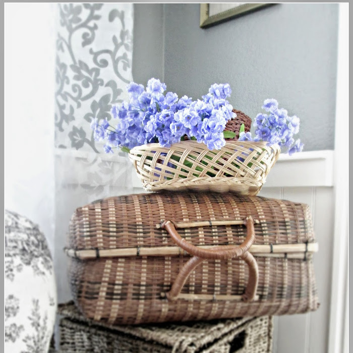 The Wicker Suitcase