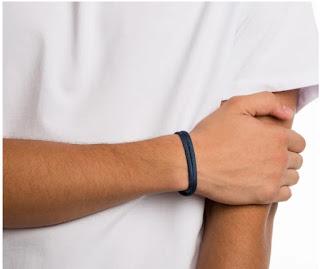 moda da pulseira masculina