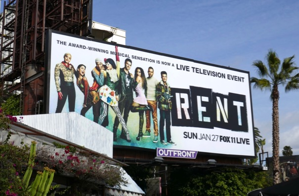 Rent Live Fox billboard
