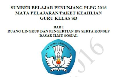 Download Materi PLPG IPS Untuk Guru Kelas SD