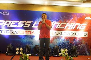 Launching Website Resmi Astra Motor Kalbar