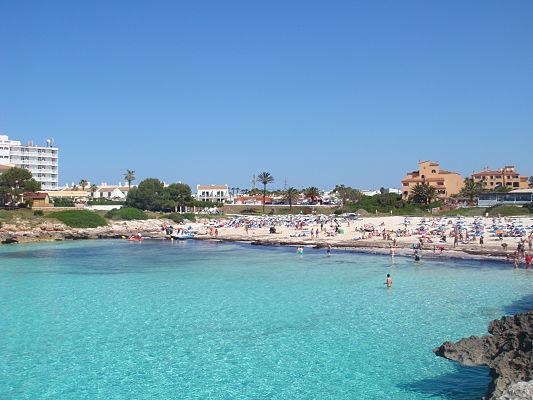 praia menorca