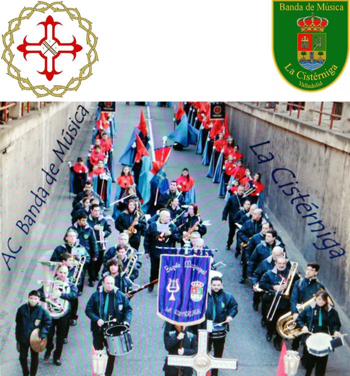 Banda de Musica Cisterniga Procesion Amargura Cristo 2017