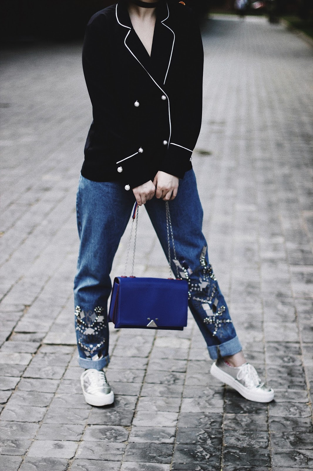 Emporio Armani Blue Bag