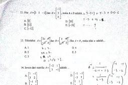 Latihan Soal PAS Kelas XI SMK