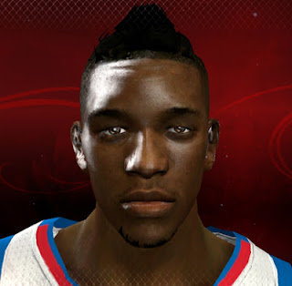 NBA 2K13 Nick Young Cyber Face Patch