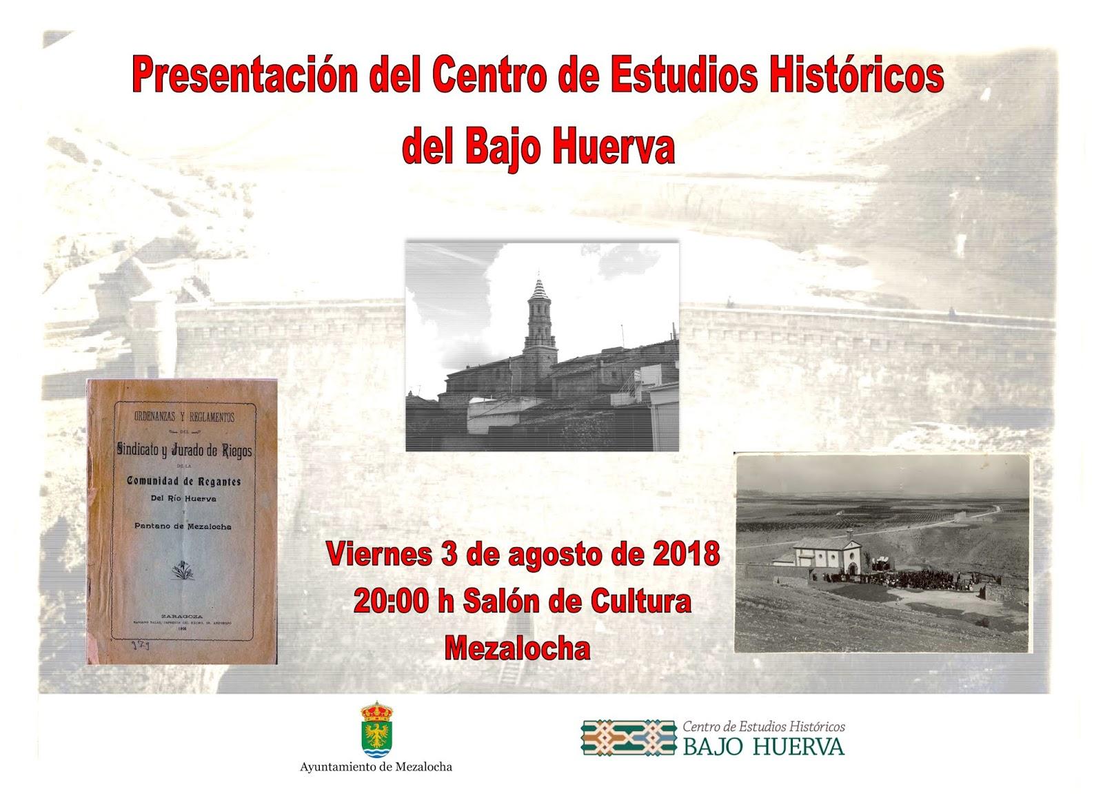 Centro de Estudios Históricos del Bajo Huerva: julio 2018