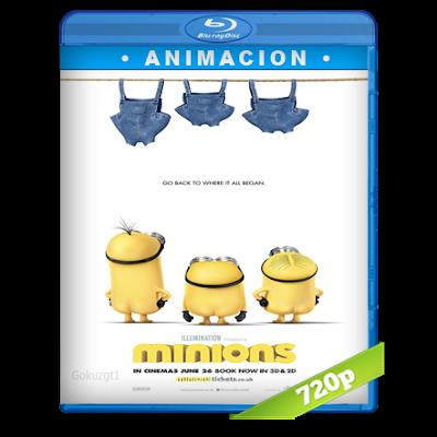 Los Minions (2015) BRRip 720p Audio Trial Latino-Castellano-Ingles 5.1
