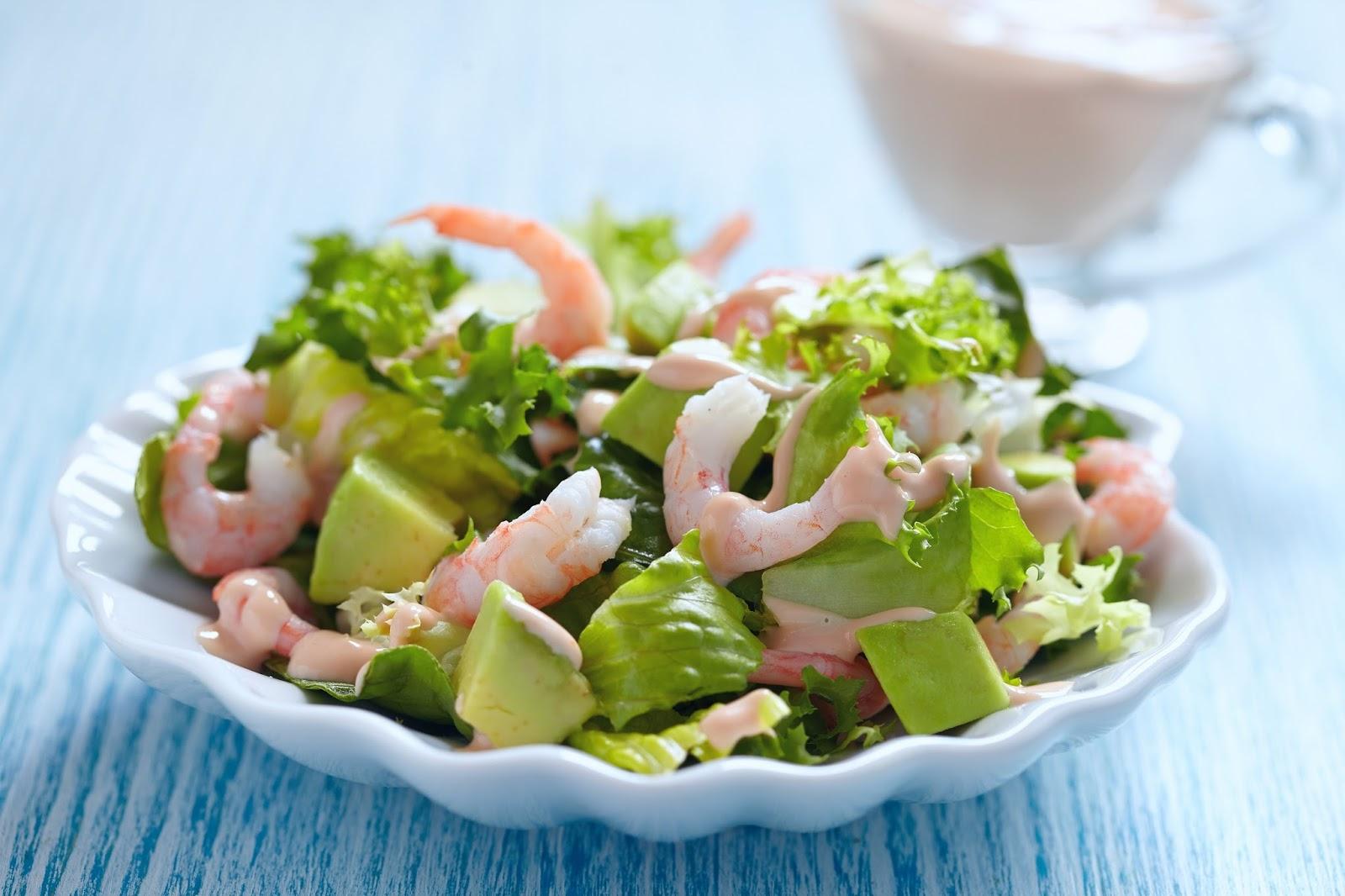 Prawn, Fennel And Avocado Salad