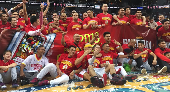 Video/Photo Playlist: Barangay Ginebra Celebration & Full Game Replay 2018 PBA Commissioner's Cup Champions